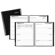 "2018 AT-A-GLANCE® DayMinder® Executive Refillable Weekly/Monthly Planner, 6 7/8""x8 3/4"", Black (G545-00-18)"