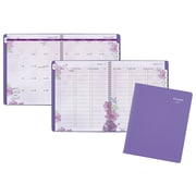 "2018 AT-A-GLANCE® Beautiful Day Weekly/Monthly Appointment Book/Planner, 13 Months, 8 1/2""x11"", Lavender (938P-905-18)"
