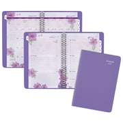 "2018 AT-A-GLANCE® Beautiful Day Weekly/Monthly Appointment Book/ Planner, 13 Months, 4 7/8""x8"", Lavender (938P-200-18)"