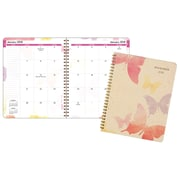 "2018 AT-A-GLANCE® Watercolors Monthly Planner, 13 Months, 6 7/8""x8 3/4"""