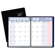 "2018 AT-A-GLANCE® QuickNotes® City of Hope Monthly Planner, 8 1/4""x10 7/8"", Black"