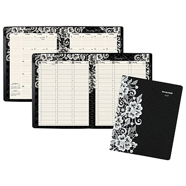 2018 AT-A-GLANCE® Lacey Weekly/Monthly Planner, 8-1/2
