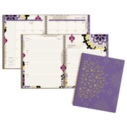 "2018 AT-A-GLANCE® Vienna Weekly/Monthly Planner, 8-1/2""x11"", Purple (122-905-18)"