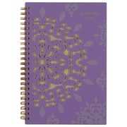 "2018 AT-A-GLANCE® Vienna Weekly/Monthly Planner, 4-7/8""x8"", Purple"