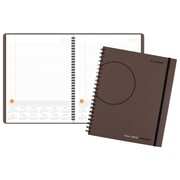 "2018 AT-A-GLANCE® Plan.Write.Remember.® Planning Notebook with Reference Calendars, Undated, 8 9/16""x11"", Gray (70-6209-30-18)"