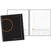 "2018 AT-A-GLANCE Plan.Write.Remember. Planning Notebook with Reference Calendars, Undated, 8 9/16"" x 11"", Black (70-6209-05-18)"