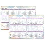 "2018 AT-A-GLANCE® Wall Planner, Reversible, Erasable, January 2018-December 2018, 24""x36"", Dreams (PM83-550-18)"
