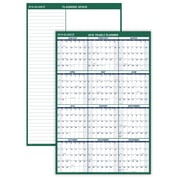 "2018 AT-A-GLANCE® Vertical Erasable Wall Calendar, 12 Months, Reversible for Notes and Planning Space, 48""x32"" (PM310-28-18)"