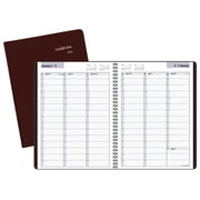 "2018 AT-A-GLANCE® DayMinder® Weekly Appointment Book/Planner, 8""x11"", Burgundy"
