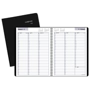 "2018 AT-A-GLANCE® DayMinder® Weekly Appointment Book/Planner, 8"" x 11"", Black (G520-00-18)"