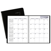"2018 AT-A-GLANCE® DayMinder® Monthly Planner, 6 7/8""x8 3/4"", Black (G400-00-18)"