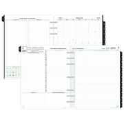 "2018 Day-Timer® Reference Two Page Per Day Refill, Loose-Leaf, Folio Size, 8 1/2""x11"" (94800-1801)"