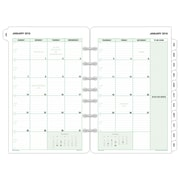 "2018 Day-Timer® Classic Two Page Per Month Refill, Loose-Leaf, Desk Size, 5 1/2"" x 8 1/2"" (87229-1801)"