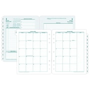 "2018 Franklin Covey® Original Two Page Per Day Planner Refill, Loose-Leaf, 8 1/2""x11"""