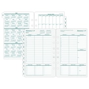 "2018 Franklin Covey® Recycled Original Two Page Per Week Planner Refill, Loose-Leaf, 5 1/2""x8 1/2"" (35423-18)"