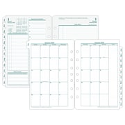 "2018 Franklin Covey® Original Two Page Per Day Planner Refill, Loose-Leaf, 5-1/2"" x 8-1/2"" (35419-18)"