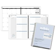 "2018 AT-A-GLANCE® Outlink Weekly/Monthly Refill, Wirebound, 8 1/2""x11"" (70-2009-10-18)"