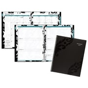 "2018 AT-A-GLANCE® Madrid Weekly/Monthly Appointment Book/Planner, 13 Months, 8 1/2"" x 11"", Black (793-905-18)"