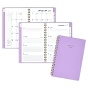"2018 AT-A-GLANCE® Color Bar Weekly/Monthly Planner, 4 7/8""x8"", Lilac (1078-200-59-18)"