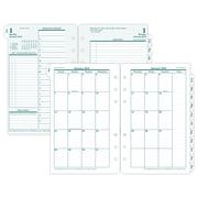 "2018 Franklin Covey® Original Two Page Per Day Planner Refill, Loose-Leaf, 4 1/4""x6 3/4"" (35414-18)"