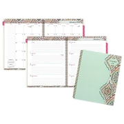 "2018 AT-A-GLANCE® Marrakesh Weekly/Monthly Planner, 8-1/2""x11"", Light Green"