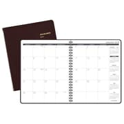 "2018 AT-A-GLANCE® Monthly Planner, 6 7/8""x8 3/4"", Winestone (70-120-50-18)"