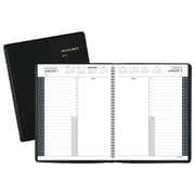 "2018 AT-A-GLANCE® 24-Hour Daily Appointment Book/Planner, 8 1/2""x10 7/8"", Black (70-214-05-18)"