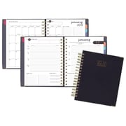 "2018 AT-A-GLANCE® Harmony Weekly/Monthly Planner, 13 Months, 8 7/8""x7 3/8"", Navy (6099-805-20-18)"