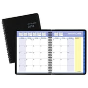 "2018 AT-A-GLANCE® QuickNotes® Monthly Planner, 6 7/8""x8 3/4"", Black (76-08-05-18)"