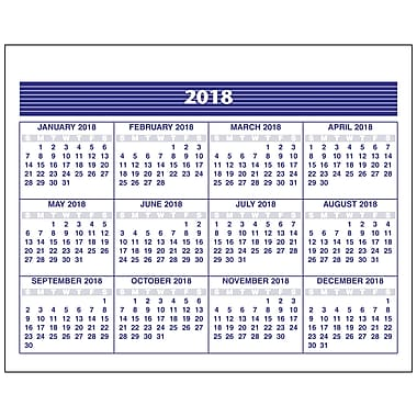 2018 AT-A-GLANCE® Weekly Refill, Flip-A-Week®, 5-5/8