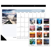 "2018 AT-A-GLANCE® Monthly Desk Pad Calendar, January-December, 22""x17"", Successories Motivational (SKW800-00-18)"
