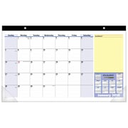 "2018 AT-A-GLANCE® Compact Monthly Desk Pad Calendar, QuickNotes®, January 2018-January 2019, 17 3/4""x10 7/8"" (SK710-00-18)"