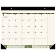 "2018 AT-A-GLANCE® Monthly Desk Pad Calendar, Recycled, January 2018-December 2018, 22""x17"" (SK32G-00-18)"
