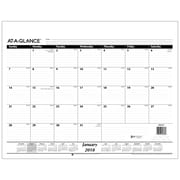 "2018 AT-A-GLANCE® Monthly Desk Pad Calendar Refill, 22""x17"" (SK22-50-18)"