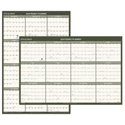 "2018 AT-A-GLANCE® Vertical / Horizontal Wall Calendar, Recycled, January 2018 - December 2018, 24"" x 36"" (PM212G-28-18)"