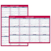 "2018 AT-A-GLANCE® Yearly Wall Calendar, Reversible Vertical / Horizontal, 24"" x 36"" (PM212-28-18)"
