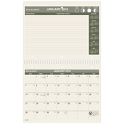 "2018 AT-A-GLANCE® Monthly Desk / Wall Calendar, Recycled, January 2018 - December 2018, 8-1/2"" x 11"" (PM170G-28-18)"
