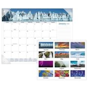 "2018 AT-A-GLANCE® Nature Monthly Desk Pad, 12 Months, January Start, 22"" x 17"" (DMD170-32-18)"