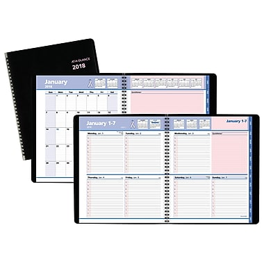 2018 AT-A-GLANCE® QuickNotes® City of Hope Weekly/Monthly Appointment Book/Planner, 8