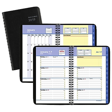 2018 AT A GLANCE® QuickNotes® Weekly/Monthly Appointment Book/Planner