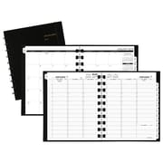 "2018 AT-A-GLANCE® Move-A-Page Weekly/Monthly Appointment Book/Planner, 8 3/4""x11"", Black (70-950E-05-18)"