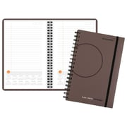 "2018 AT-A-GLANCE® Plan.Write.Remember.® Planning Notebook with Reference Calendars, Undated, 5 5/8""x9"", Gray (70-6210-30-18)"