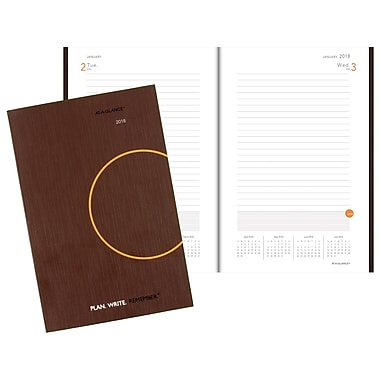 2018 AT-A-GLANCE® Plan. Write. Remember.® Daily Planning Notebook, 6
