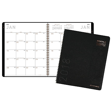 2018 AT-A-GLANCE® Contemporary Monthly Planner, 12 Months, 8 7/8