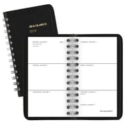 "2018 AT-A-GLANCE® Unruled Weekly Pocket Planner, 2 1/2""x4 1/2"", Black (70-035-05-18)"