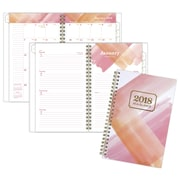 "2018 AT-A-GLANCE® Painted Love Weekly/Monthly Planner, 4 7/8""x8"", Pink (1066-200-13-18)"