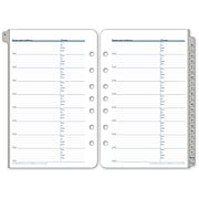 """Franklin Covey A-Z Tabbed Address, Phone Pages, Loose-Leaf, Classic Ring Bound, 5 1/2""""x8 1/2"""""""