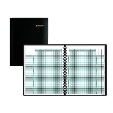 AT-A-GLANCE® Academic Class Record Book, Undated, 8-1/4