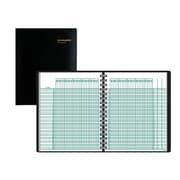 "AT-A-GLANCE® Academic Class Record Book, Undated, 8-1/4"" x 10-7/8"", Black (80-150-05)"
