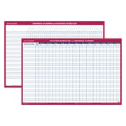 AT-A-GLANCE® Recycled Horizontal Erasable Universal/Vacation Scheduler